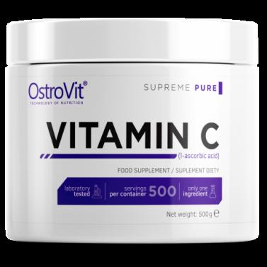 100% Витамин C прах / Vitamin C powder OstroVit - 500/1000 гр.