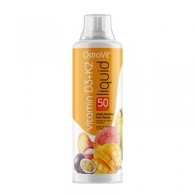Витамин D3 + K2 течен OstroVit - 500 мл