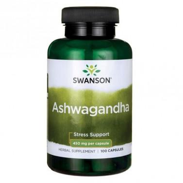 Ашваганда / Ashwagandha 450mg SWANSON  - 100 Капсули