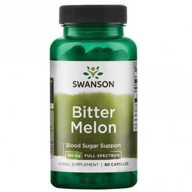Full-Spectrum Горчив пъпеш / Bitter Melon 500mg SWANSON - 60 Капсули
