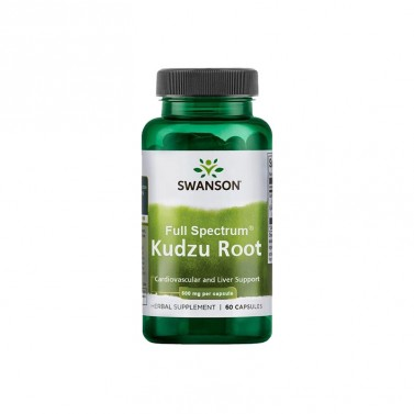 Корен от кудзу / Kudzu Root 500mg SWANSON - 60 Капсули