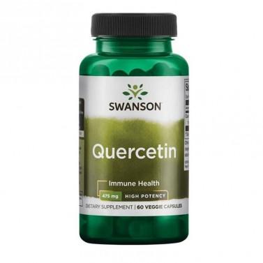 Кверцетин / Quercetin - High Potency 475mg SWANSON - 60 Капсули