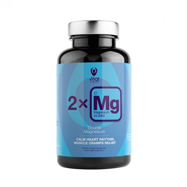 Двоен магнезий / Double Magnesium VITAL CONCEPT - 90 Вега капсули