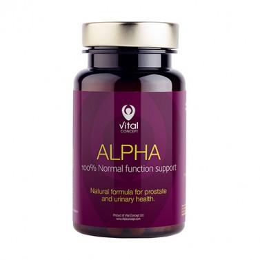 Алфа / Alpha VITAL CONCEPT - 60 Вега капсули