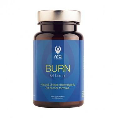 Фет бърнър Burn / Burn Fat Burner VITAL CONCEPT - 60 Вега капсули