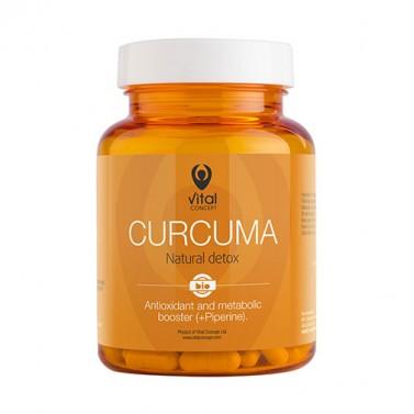 Куркума / Curcuma VITAL CONCEPT - 60 Вега капсули